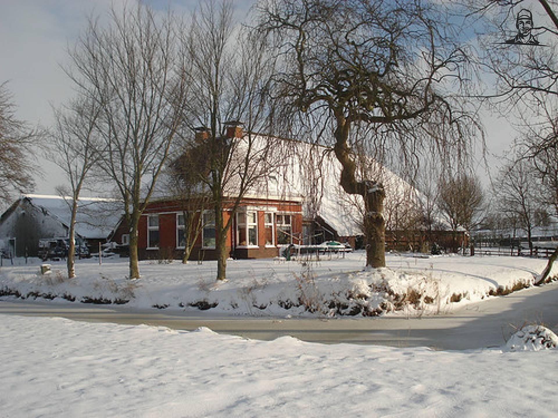 In de sneeuw van Ellie