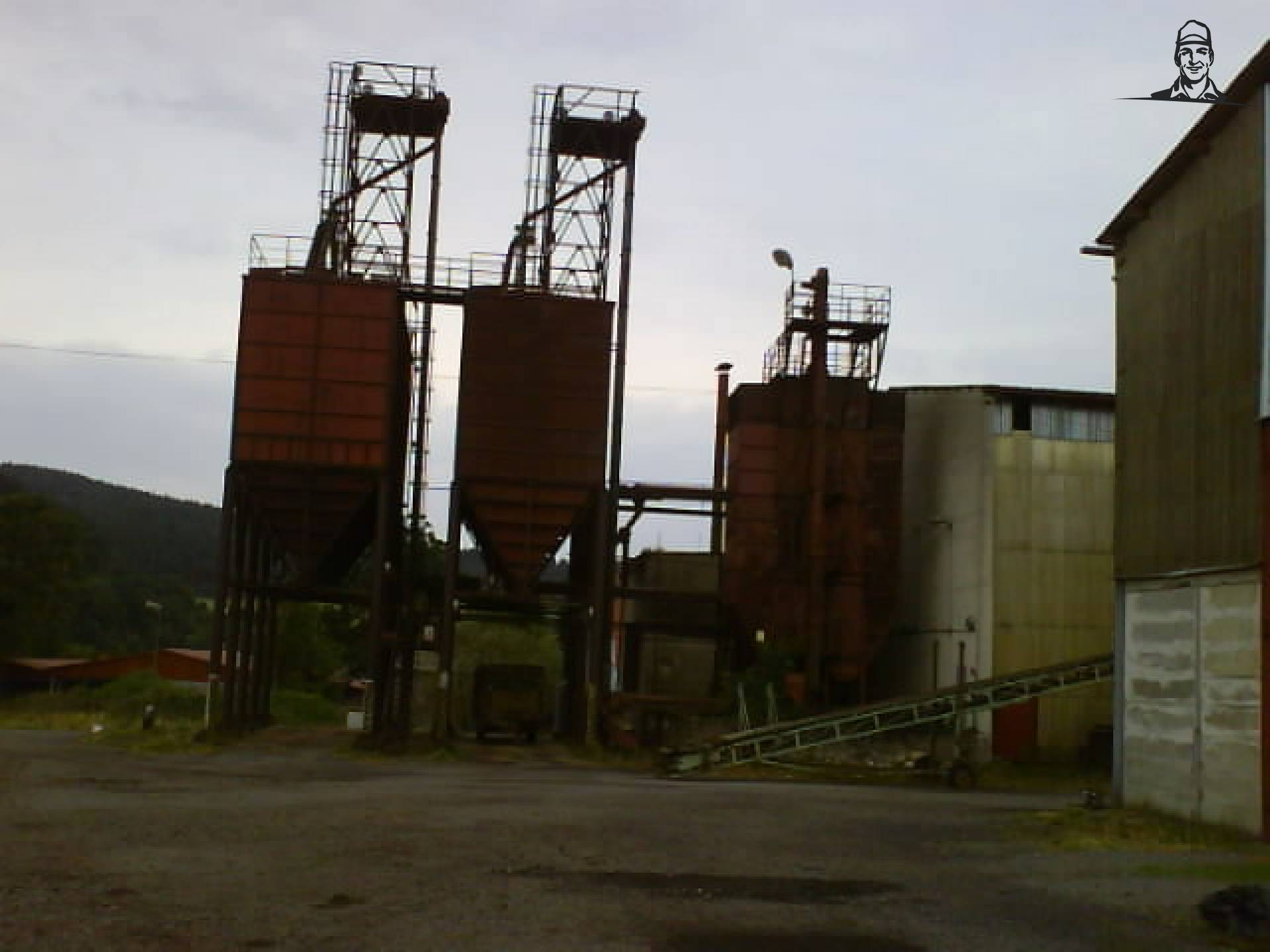 Graan silo's van ekenhorsie