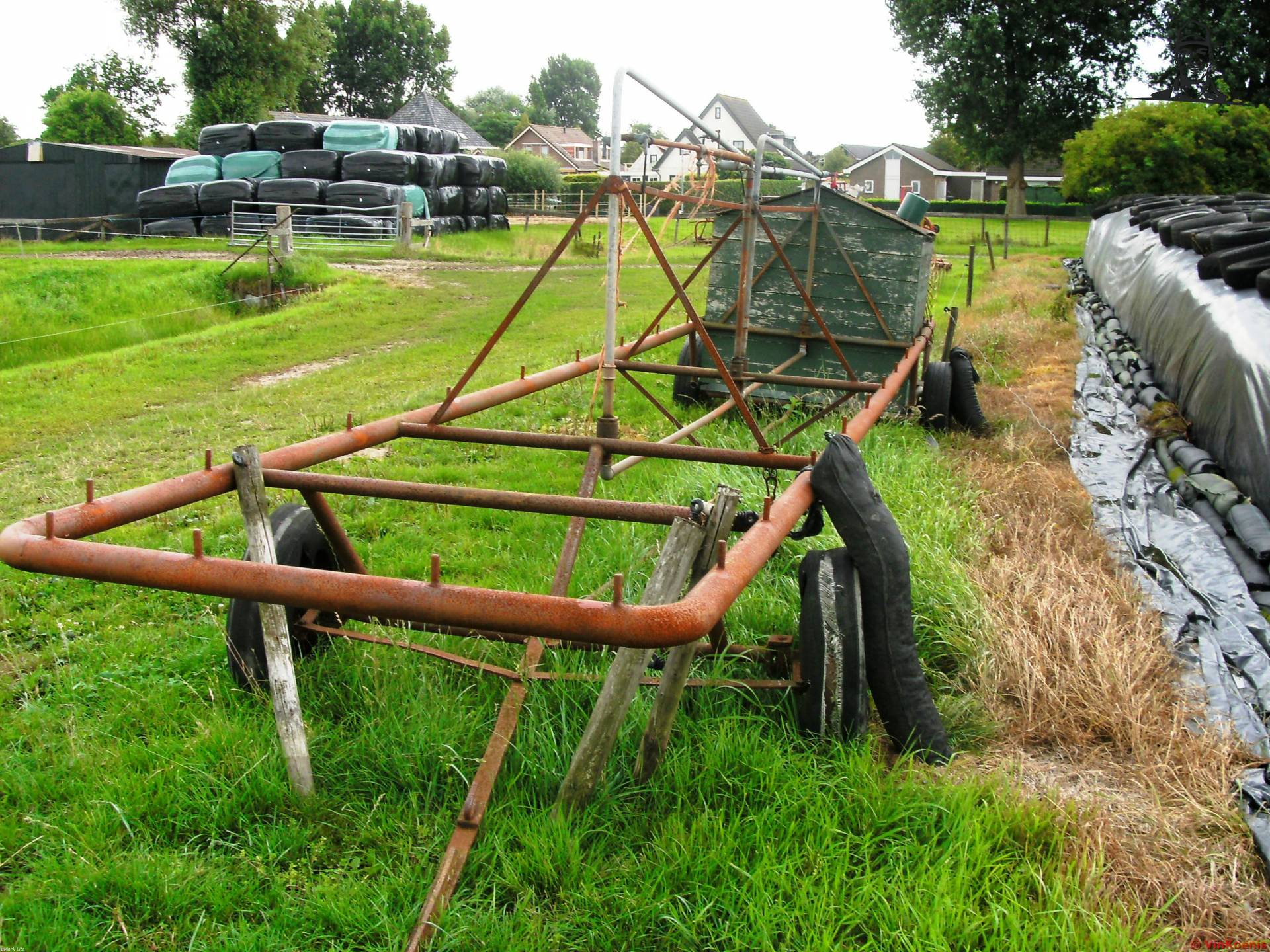 Weide melkwagen  van Valtra-Fordpower