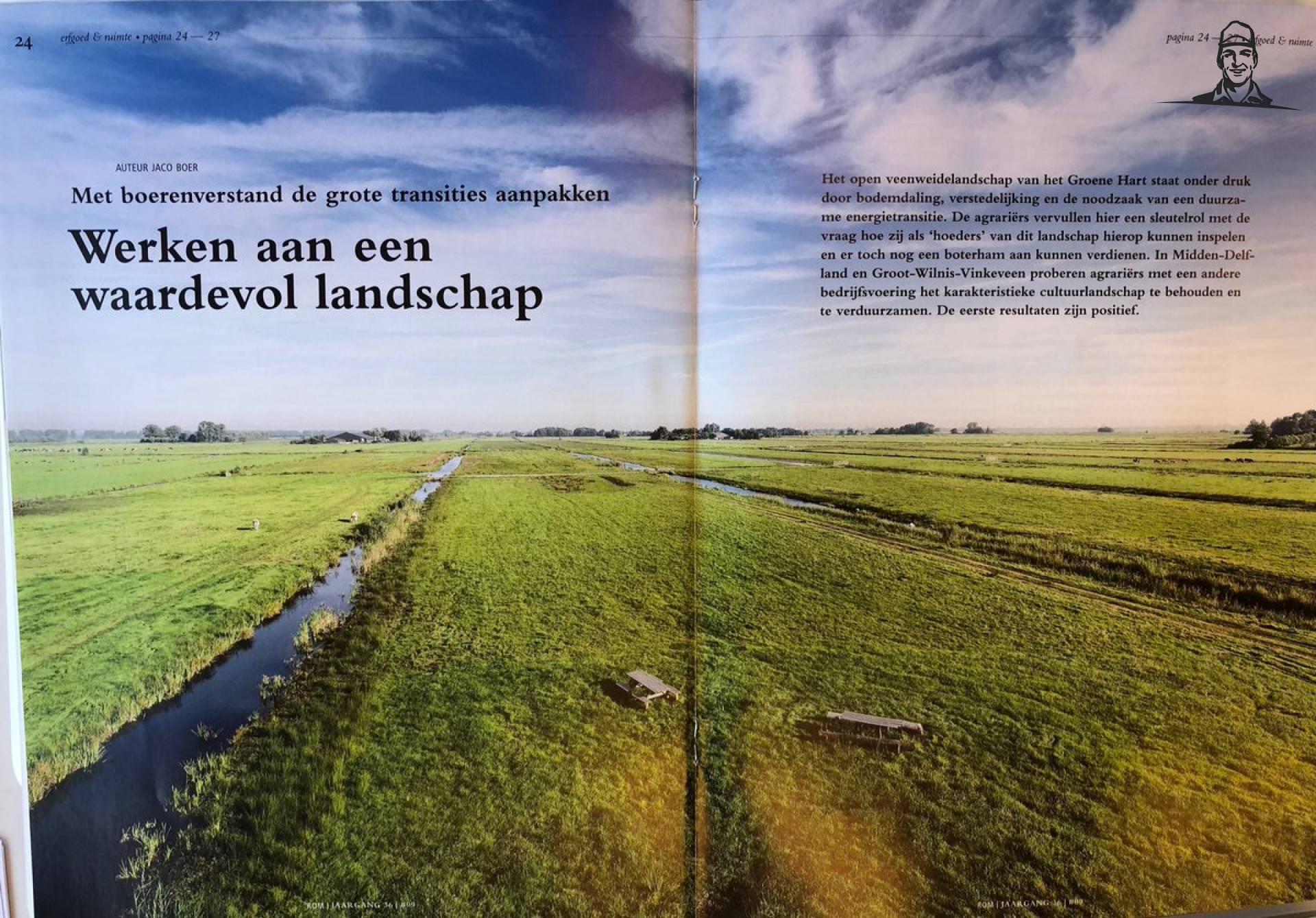 Mooi artikel over onze activiteiten in @Midden_Delfland... van Nieuwsgrazer