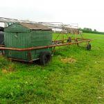 Weide melkwagen