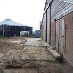 Achterkant oude stal