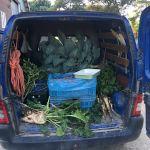 Zo, op naar het @Helinium1 om een gastles te geven over groenten...