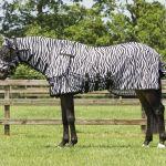 Zebra paardendeken